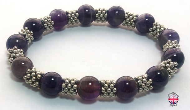 glass beaded handmade bracelet