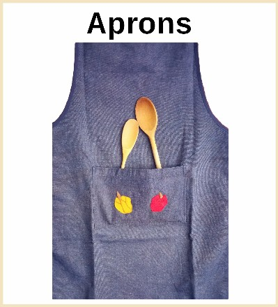 Aprons for children and adults
