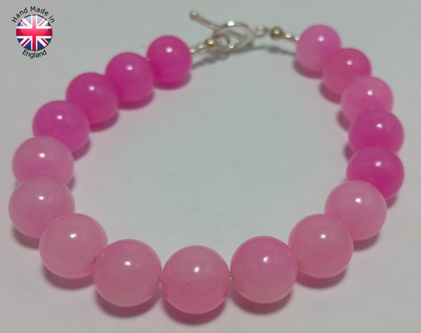 quartz bracelet handmade