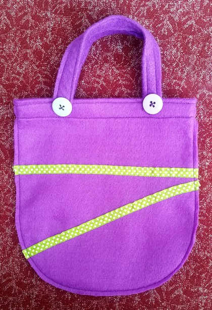 Children's Felt Party Bag