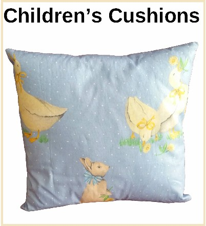 bespoke children's cushions