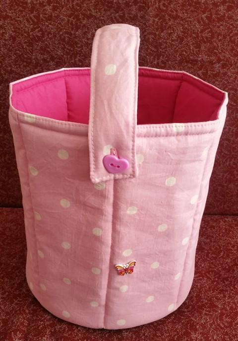 Children's Toy Bucket Soft Safe Strong