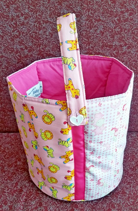 Toy Bucket Soft Safe and Strong