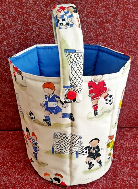Children's Toy Bucket Soft Safe Strong