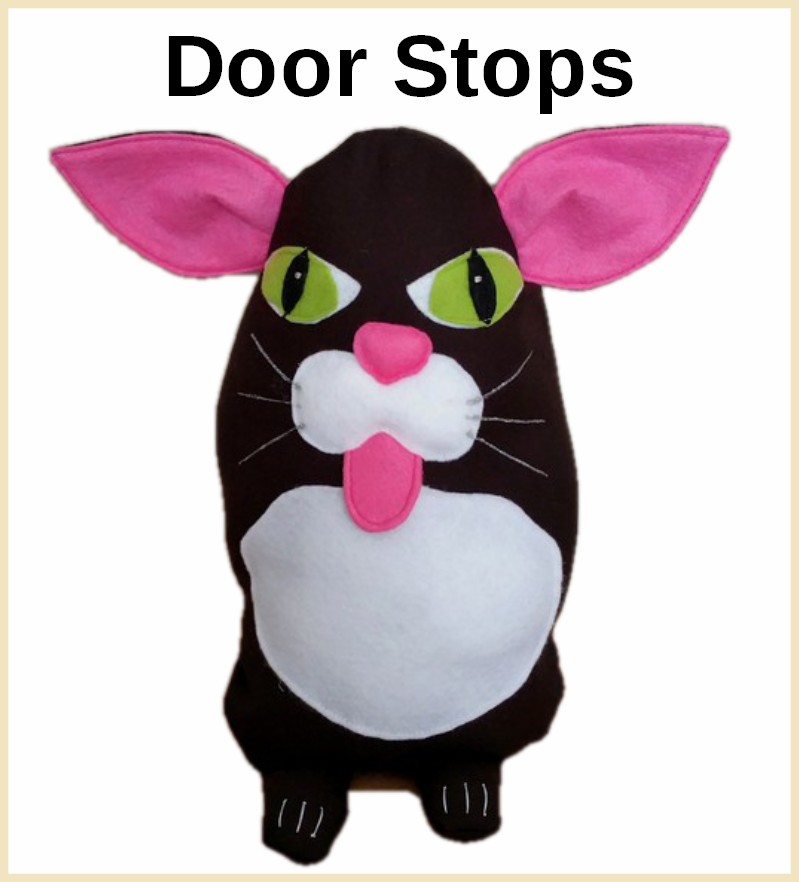 Animal classic door stops, doorsstops