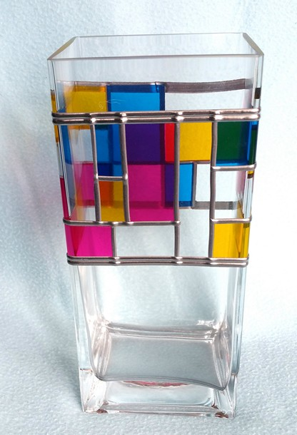 art glass vase