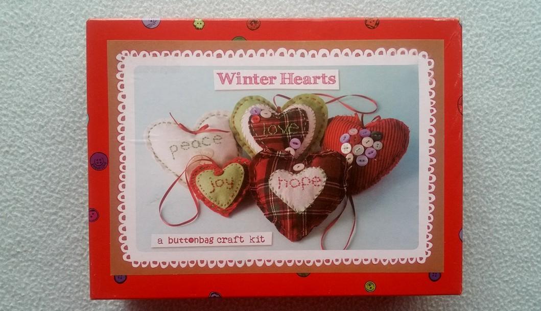 Hearts craft kit