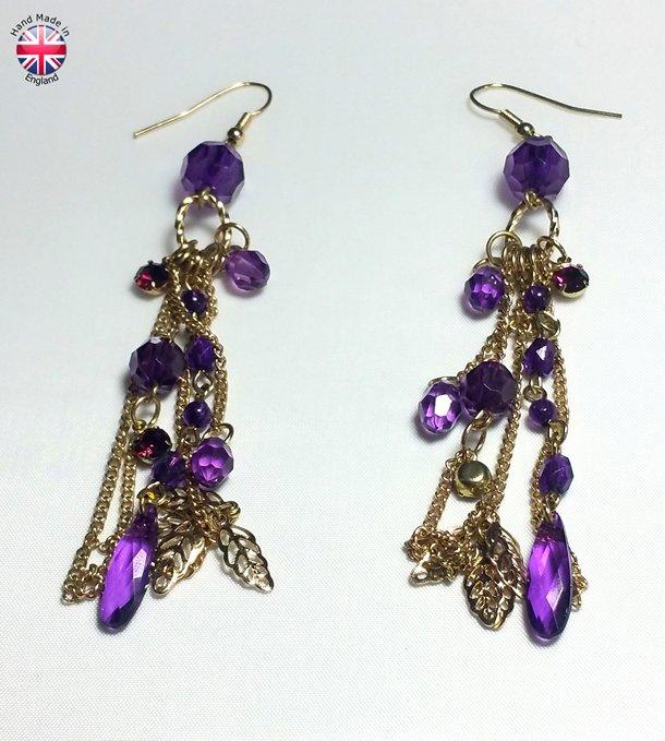designer ear rings, handmade