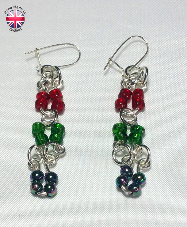 designer ear rings, handmade
