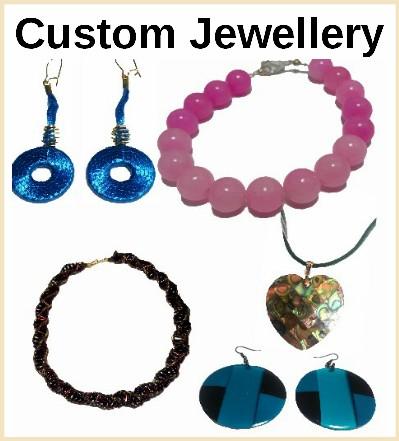 Custom jewellery, jewelry