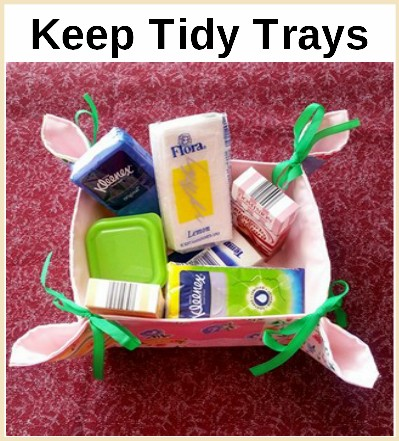 Keep Tidy Trays