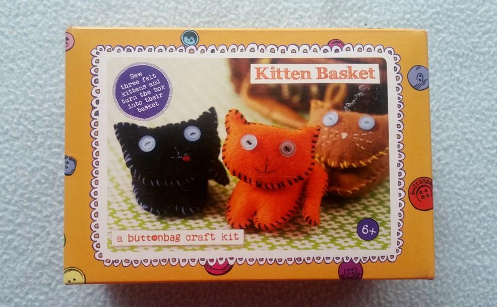 Kitten Basket Craft Kit