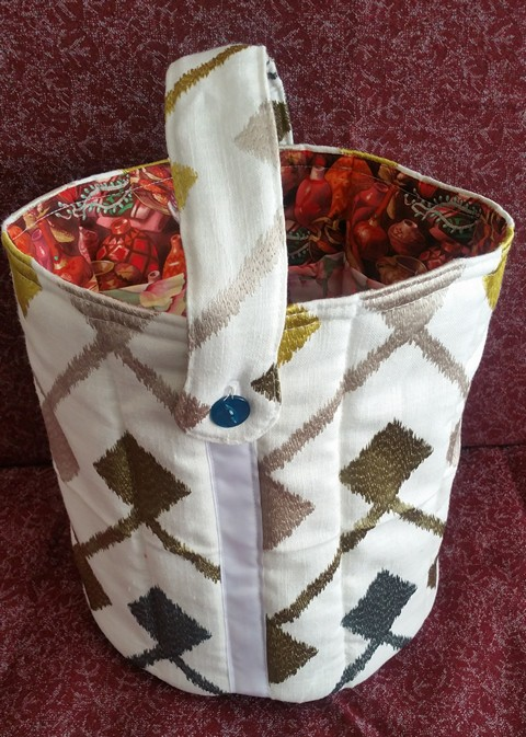 Custom Knitting Bucket