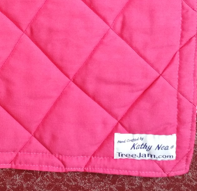 Quilted Pram Cover handmade