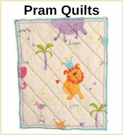 Handmade Pram Quilts
