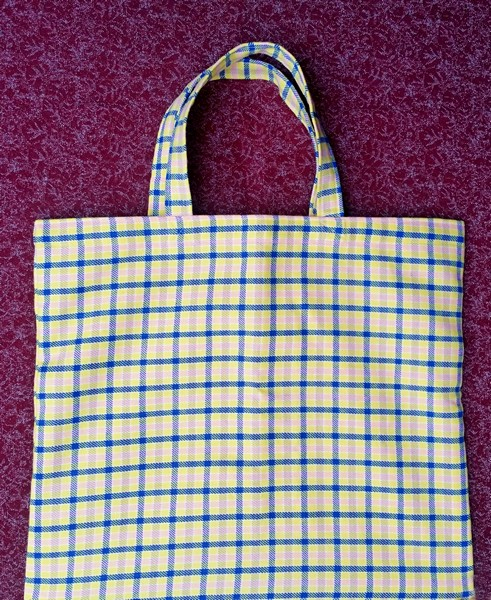 strong classic lined shopping bag