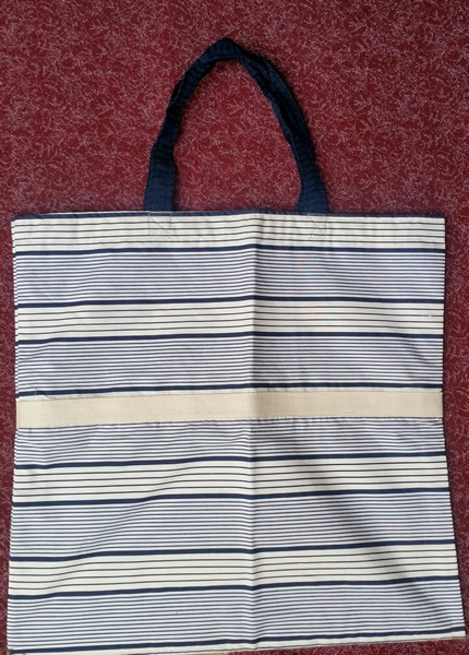 lined classic shopping bag