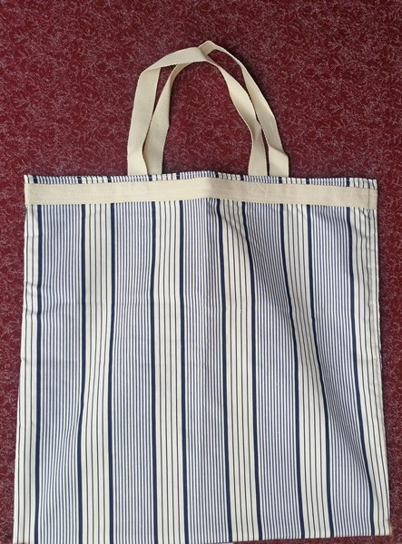 strong lined classic shopping bag