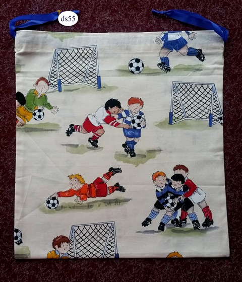 Football Classic Drawstring Bag