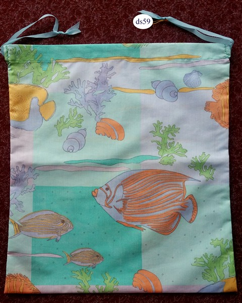 Fishes Classic Drawstring Bag