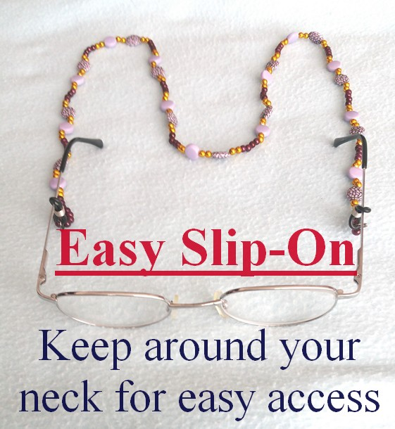 Handmade Spectacle and Glasses Necklace