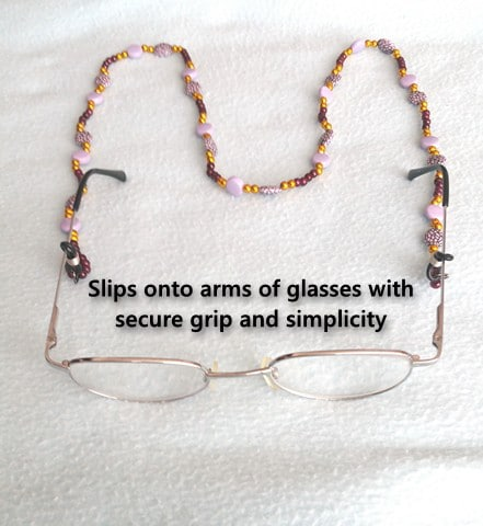 GLASSES & SPECTACLE NECKLACE by ANTA